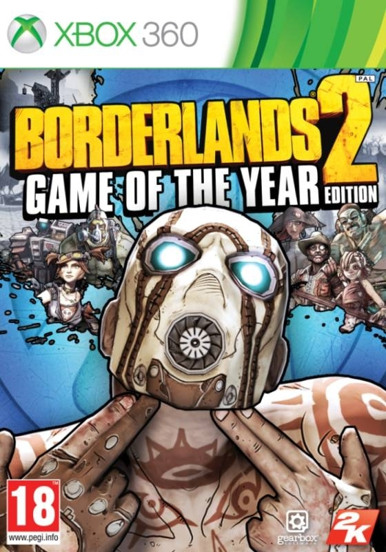 Borderlands 2 Game of the Year Edition (Xbox 360)